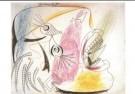 Pablo Picasso (1881-1973)  -  Studie huilende kop - Postcard -  A9984-1