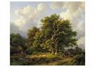 Barend C. Koekkoek(1803-1862)  -  Barend C. Koekkoek/ - Postcard -  ABVB0001-1