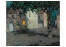 Henri le Sidaner (1862-1939)  -  Pleintje te Cherbourg bij - Postcard -  ABVB004-1