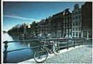 Ricardo Murad  -  Torenbrug, Singel Canal, Amsterdam - Postcard -  AU0429-1