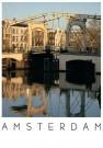 Igno Cuypers  -  Magere Brug: morning light, Amsterdam - Postcard -  AU0709-1