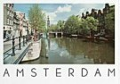 Tim Killiam (1947-2014)  -  Westertoren, seen from the Prinsengracht - Postcard -  AU0724-1