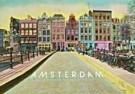 Kay Erickson  -  Bridge near Leliegracht, Amsterdam - Postcard -  AU0732-1