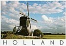 Igno Cuypers  -  Green Windmill, Kockengen - Postcard -  AU0757-1