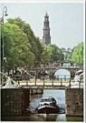 Igno Cuypers  -  Beginning of the Prinsengracht, Amsterdam - Postcard -  AU0773-1