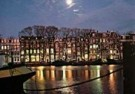 Igno Cuypers  -  Amstel River in moonlight, Amsterdam - Postcard -  AU0781-1