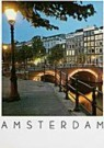 Igno Cuypers  -  Evening on the Canals, Amsterdam - Postcard -  AU0787-1