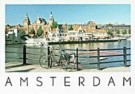 Tim Killiam (1947-2014)  -  Centraal Station, Amsterdam - Postcard -  AU0800-1