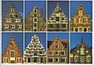 Tim Killiam (1947-2014)  -  Dutch Gable-Types: 8 Step-gables - Postcard -  AU0818-1