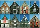 Tim Killiam (1947-2014)  -  Eight spout-gables (tuitgevels) Amsterdam - Postcard -  AU0819-1