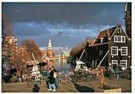 Igno Cuypers  -  Oude Schans, Amsterdam - Postcard -  AU1018-1