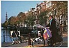 Igno Cuypers  -  Painter on the Prinsengrach, Amsterdam - Postcard -  AU1024-1