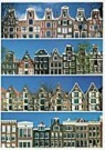 Tim Killiam (1947-2014)  -  Dutch gables : 4 Rows of Canal Houses, Amsterdam - Postcard -  AU1027-1
