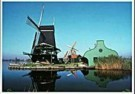 Igno Cuypers  -  Five Windmills in Zaanse Schans, Holland - Postcard -  AU1039-1
