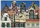 Tim Killiam (1947-2014)  -  9 Types of Amsterdam Canal Houses - Postcard -  AU1055-1