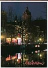 Igno Cuypers  -  Night Colors in Amsterdam's redlight district - Postcard -  AU1061-1