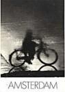 Paul Huf (1924-2002)  -  Fiets in regen - Postcard -  B0057-1