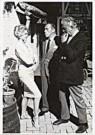 Paul Huf (1924-2002)  -  Huf/ B.B.,Sullivan et Tati - Postcard -  B0154-1
