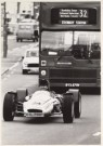 Mike Hollist  -  Racingcar in the City - Postcard -  B0618-1