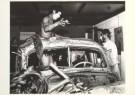 Cor Jaring (1936-2013)  -  Jaring/ Anti-verkeershappening - Postcard -  B0913-1