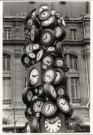 Martin Langer (1956)  -  St. Lazare, Paris - Postcard -  B1480-1