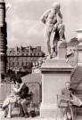Fred Brommet (1924-2008)  -  Jardin du Luxembourg, Paris 1956 - Postcard -  B1799-1