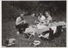 Denise Huldy  -  D. Huldy/Picknick, 1955 - Postcard -  B2122-1