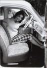 Anoniem,  -  De vrouw en haar auto - Postcard -  B2801-1