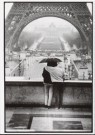 Marc atze Jacquemin  -  Two people with umbrella looking at the Eifeltower - Postcard -  B2827-1