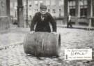 Anoniem,  -  Amsterdamse Jodenbuurt ca.1900 - Postcard -  B3082-1
