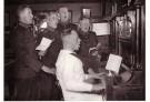 Spaarnestad Fotoarchief,  -  Mariniers zingen - Postcard -  B3228-1