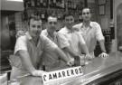 Ben van Eck  -  Camareros, 2007, Fuengirola, Spanje - Postcard -  B3451-1