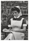 Emile v. Moerkerken(1916-1995) -  Leerling-verpleegster. 21j., ca. 1959 - Postcard -  B3467-1