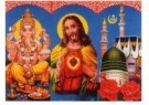 Tropenmuseum, Amsterdam  -  Urban Islam/Prent hindoeisme - Postcard -  C10091-1