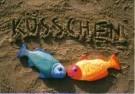 Jeanet van der Meer (1958)  -  Kusschen - Postcard -  C10372-1
