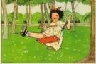 Rie Cramer (1887-1977)  -  Uit:'Spelletjes' - Postcard -  C10580-1