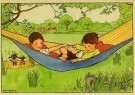 Rie Cramer (1887-1977)  -  Uit:'Spelletjes' - Postcard -  C10581-1