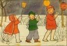 Rie Cramer (1887-1977)  -  Uit:'Spelletjes' - Postcard -  C10582-1