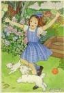 Rie Cramer (1887-1977)  -  Uit:'Katrientje woont buiten' - Postcard -  C10597-1