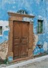 Karin van Oostrom  -  Deur, Chios - Postcard -  C10619-1