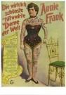 Circusarchief Jaap Best  -  Die wirklich tatowirte Dame der Welt, Annie Frank - Postcard -  C10704-1