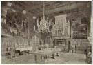 Pierre J.H. Cuypers (1827-1921 -  Kasteel de Haar, eetzaal - Postcard -  C11086-1
