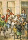 -  Sinterklaas - Postcard -  C11101-1