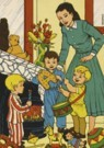 -  Sinterklaas - Postcard -  C11107-1
