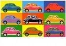 Paul Fennis  -  Fiat 500 - Postcard -  C11283-1