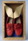 Mario Ceroli (1938)  -  M.Ceroli/Shoes or no shoes - Postcard -  C11390-1