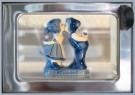 Rolf Unger  -  The Boertje & Boerinnetje (Delft-blue) automatiek - Postcard -  C11505-1