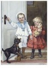 Cornelis Jetses (1873-1955)  -  Uit: Pim en Mien - Postcard -  C11571-1