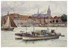 Cornelis Jetses (1873-1955)  -  Schoolplaat in ruime kring - Postcard -  C11598-1