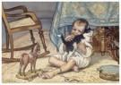 Cornelis Jetses (1873-1955)  -  Uit: Ot en Sien, Voor scholen in Indie - Postcard -  C11609-1